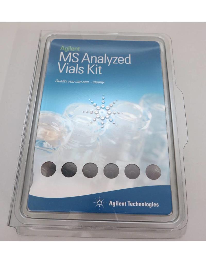 Agilent Technologies 2 ml Autosampler Vials: Agilent MS Analyzed Kit 5190-2280