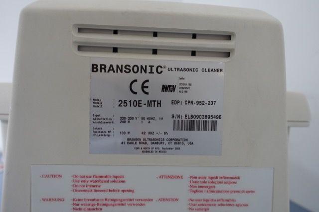 Branson BRANSONIC 2510E-MTH Ultrasonic Bath