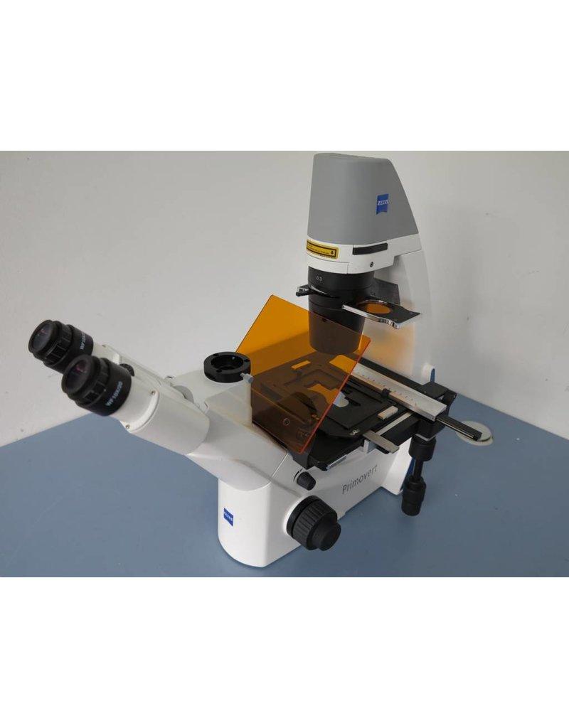 Zeiss Zeiss Primovert iLED inverses Fluoreszenz-Mikroskop