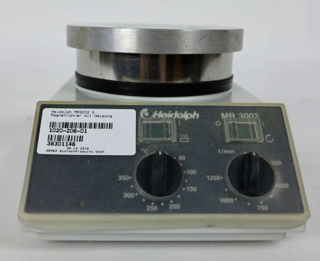 Heidolph Refurbished Heidolph MR3002 S Magnetic Stirrer