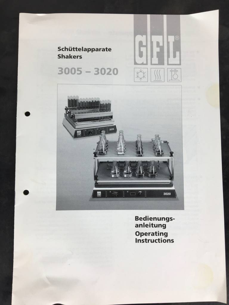GFL Refurbished GFL 3011 Tumbling Shaker