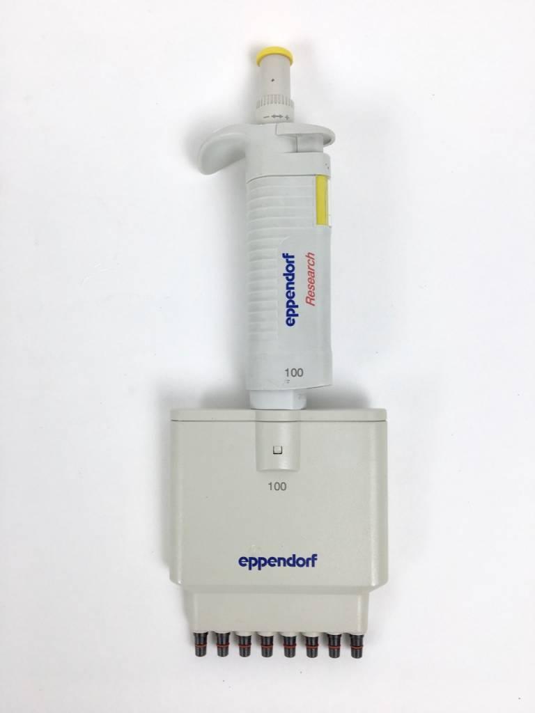 Eppendorf Eppendorf Research 8 x 10-100µl, 8-channal pipette