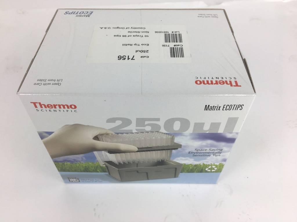 Thermo Scientific Thermo Scientific Matrix 7156 Eco Tip Refill 250 µl (10x96)