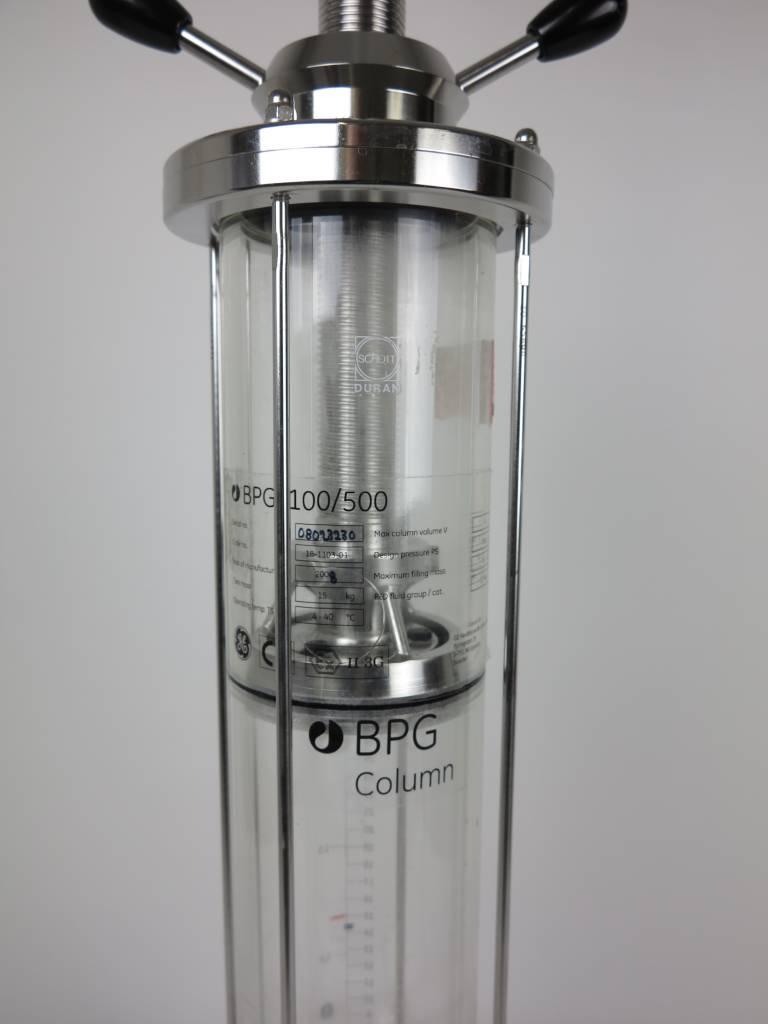 GE GE LifeSciences BPG 100/500 Chromatography Column