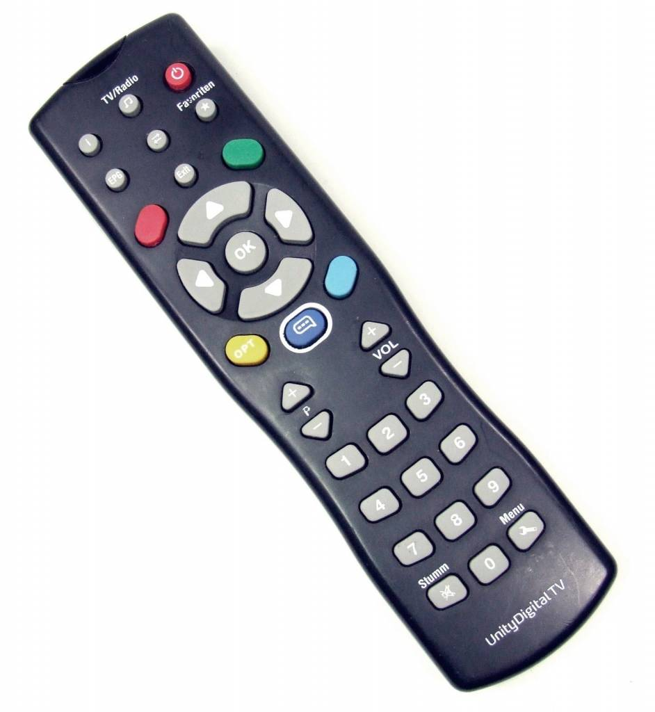 Unity Media Fernbedienung für Technotrend TT-micro S202 S302 S305 S320 S326 S330 C201 C202 C254 C264 C274