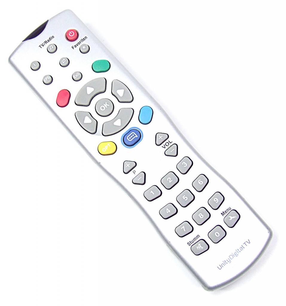 original unity media remote control for technotrend tt. Black Bedroom Furniture Sets. Home Design Ideas