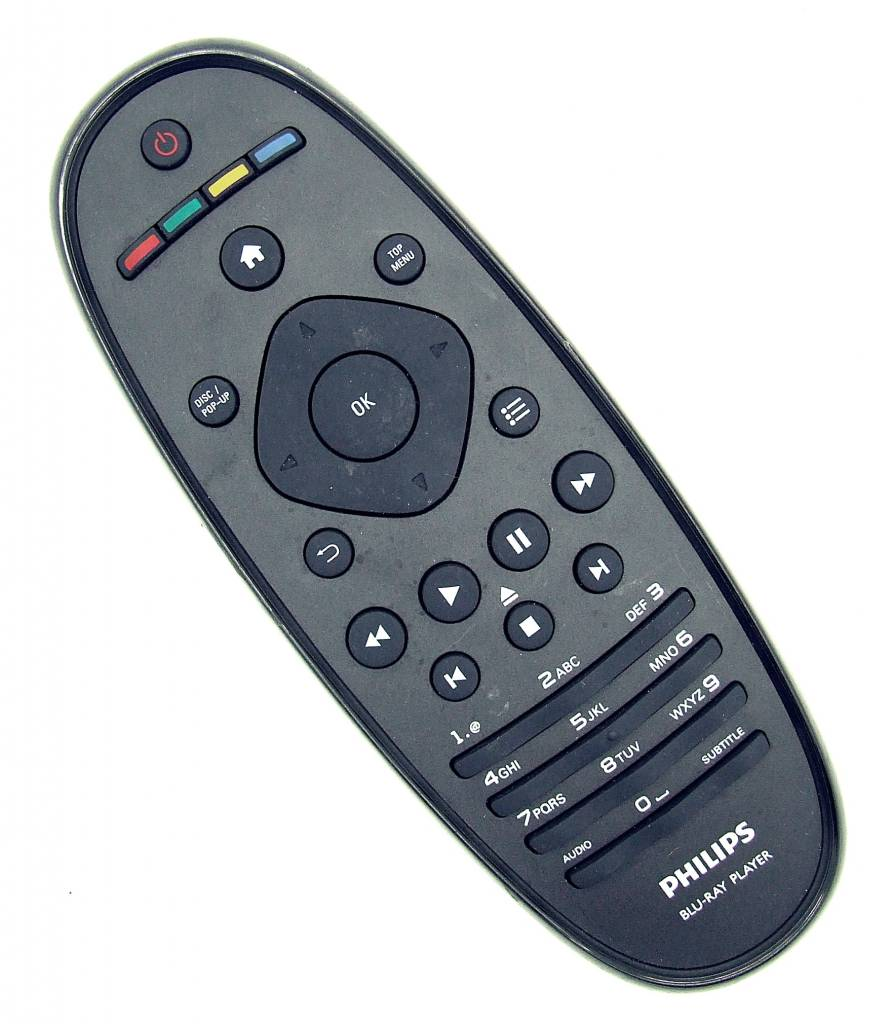 Philips Original Philips remote control RC2683403/01 for BDP7600/51 Blu-Ray Player