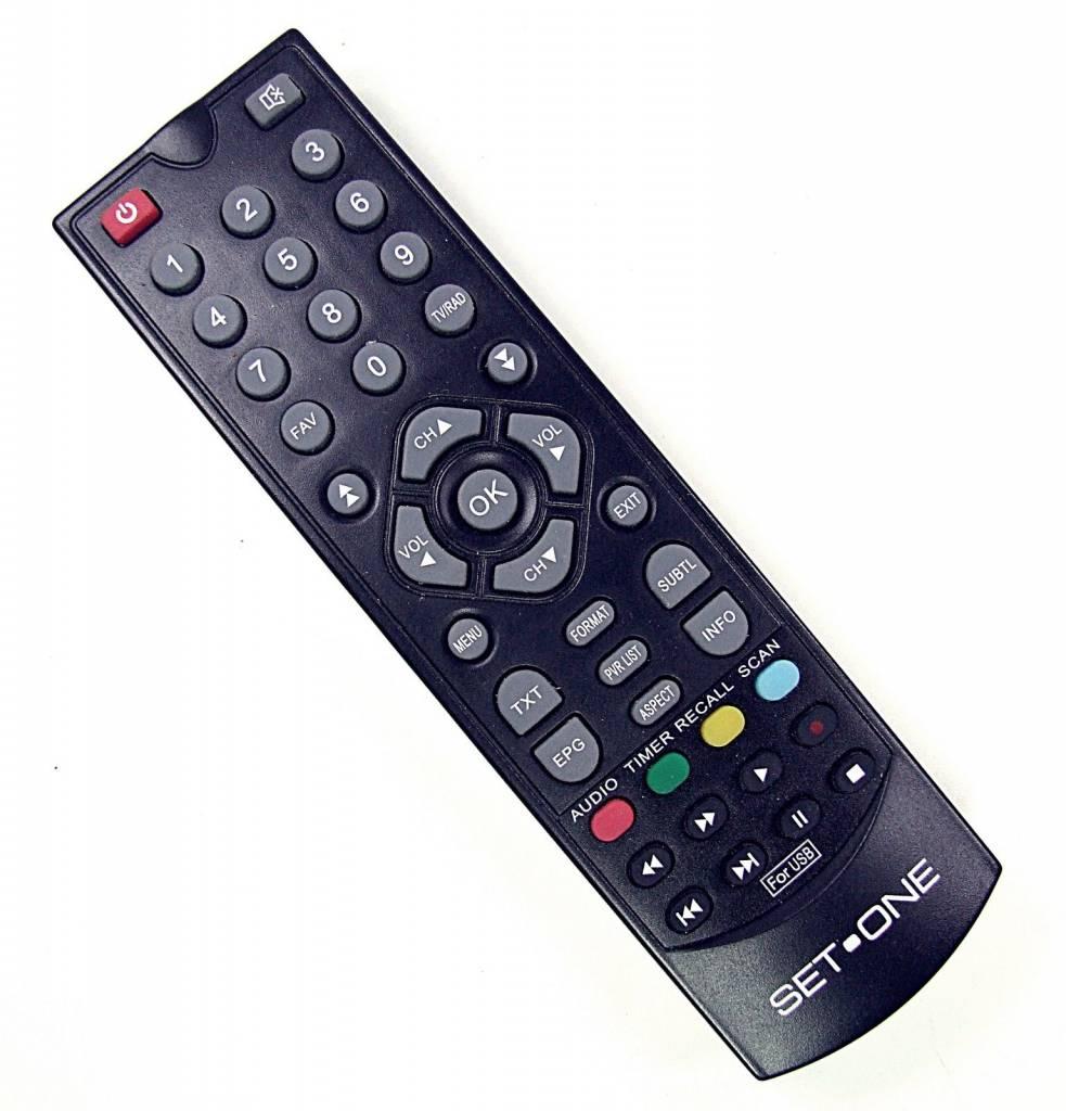 EasyOne Original remote control for SetOne / Titan TX-4500T HD TX4500THD