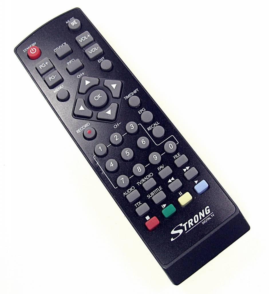 Strong Original Strong remote control for SRT 5300, SRT5302 Digital Receiver