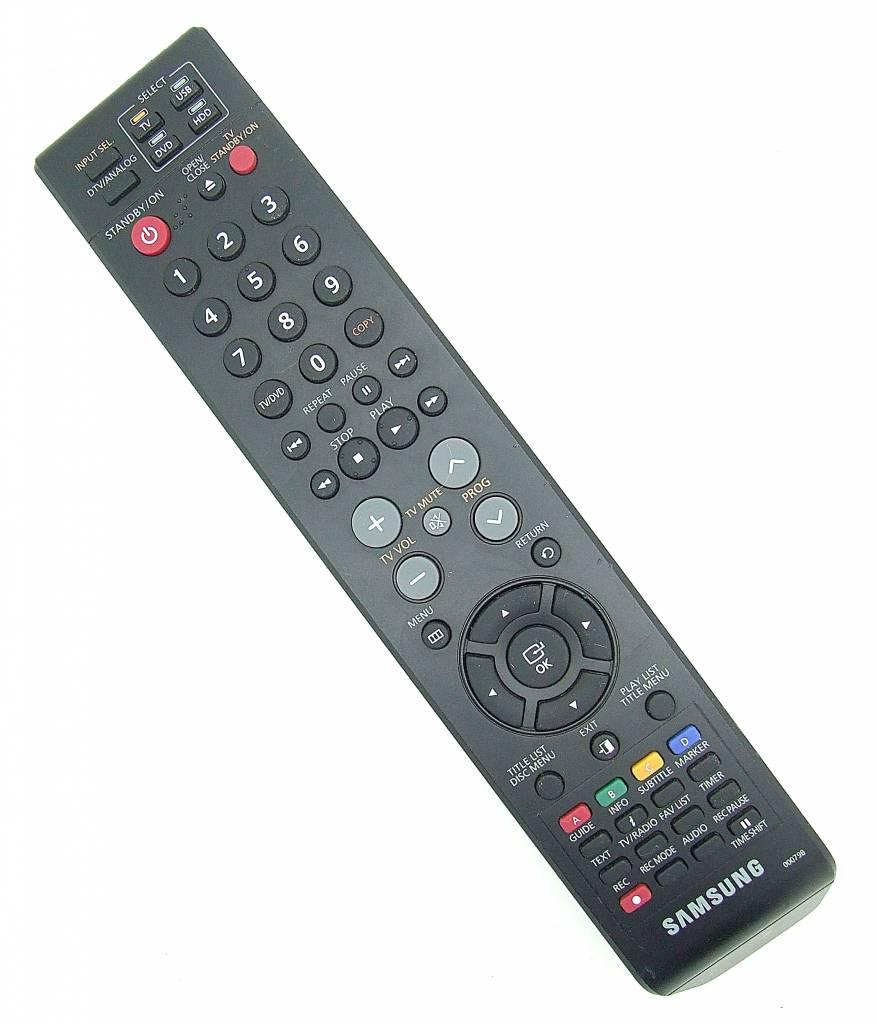 original samsung fernbedienung 00079b remote control. Black Bedroom Furniture Sets. Home Design Ideas