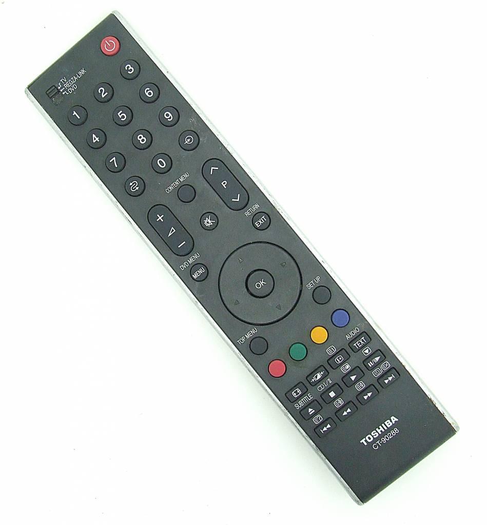 original toshiba fernbedienung ct90288 ct 90288 remote control onlineshop f r fernbedienungen. Black Bedroom Furniture Sets. Home Design Ideas