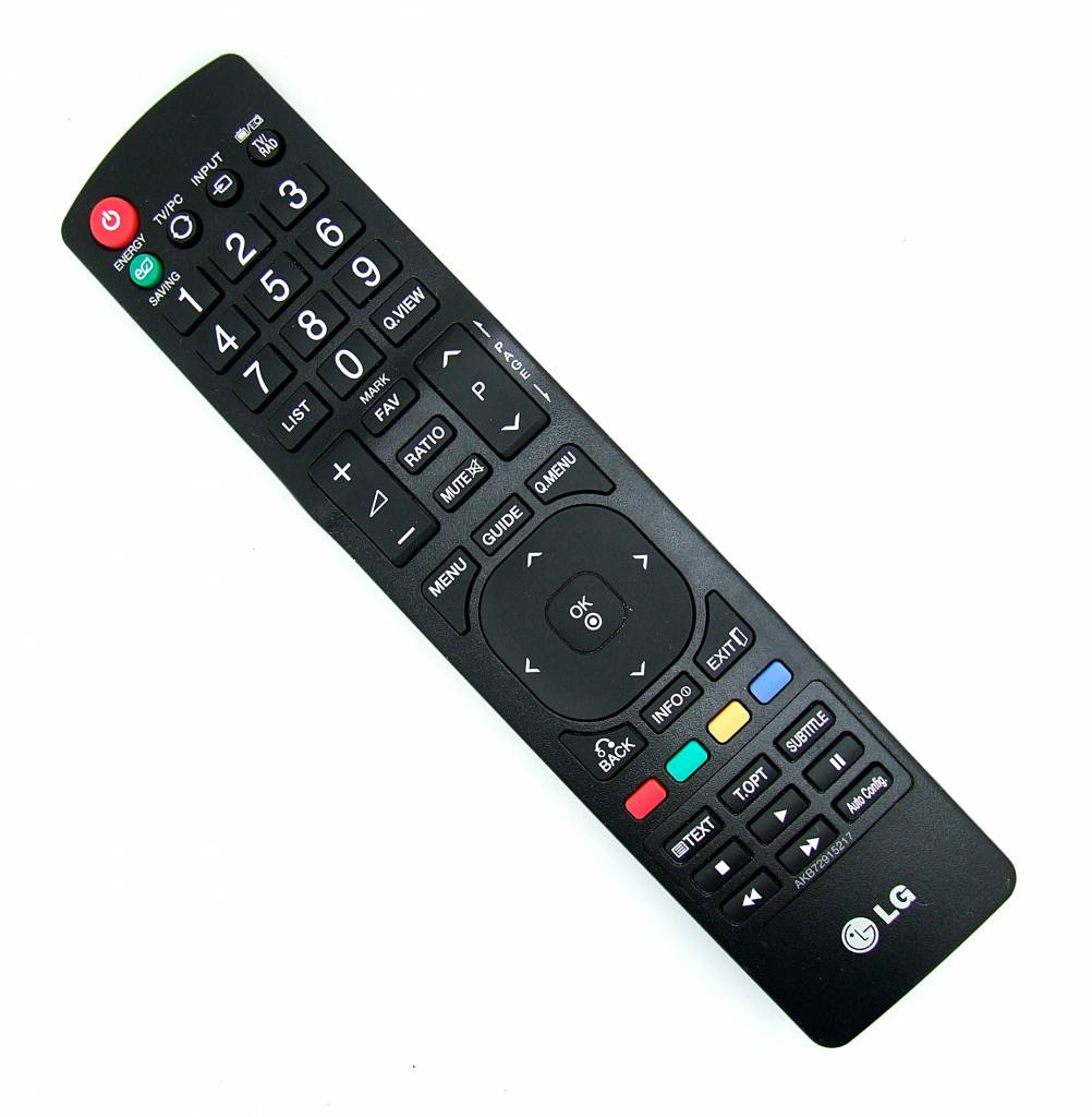 how to open lg remote control