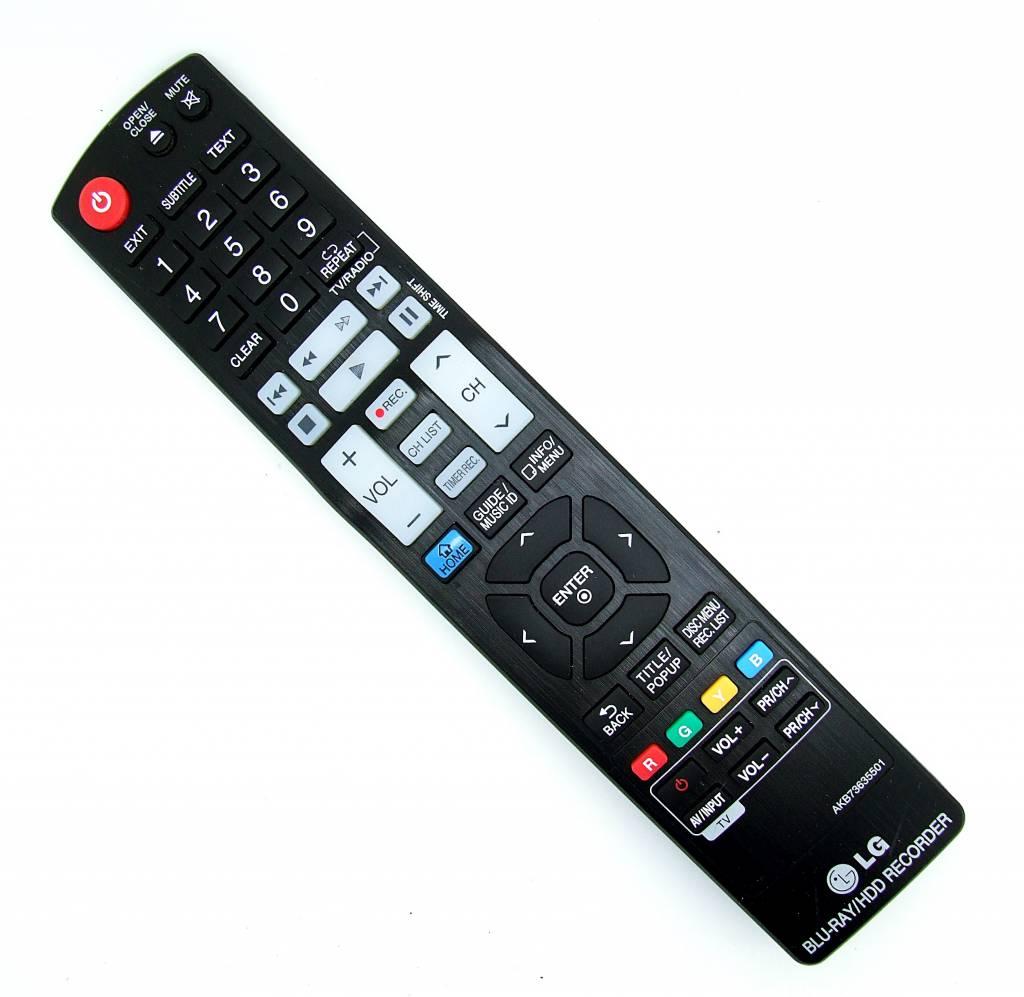 LG Original LG remote control AKB73635501 for HR925M, HR929M, HR935M Blu-Ray/HDD Recorder