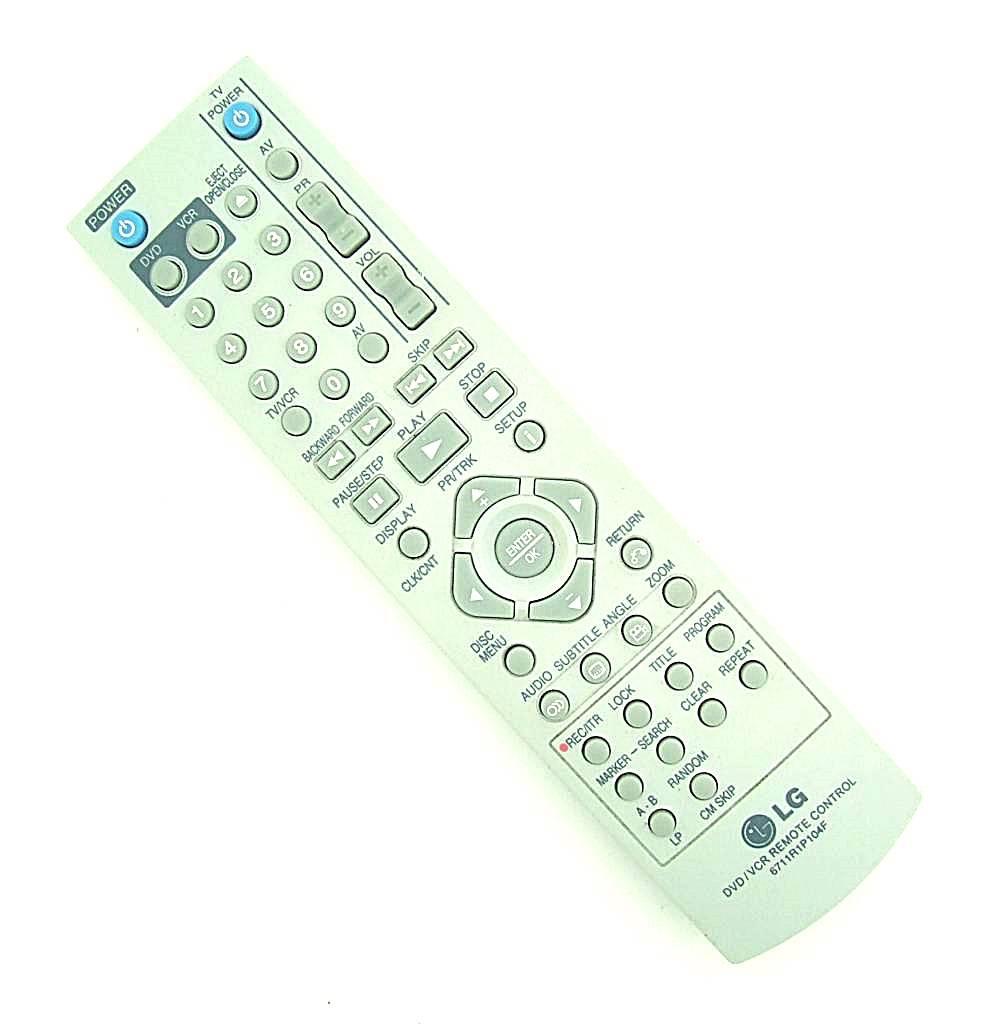 LG Original LG remote control 6711R1P104F DVD/VCR
