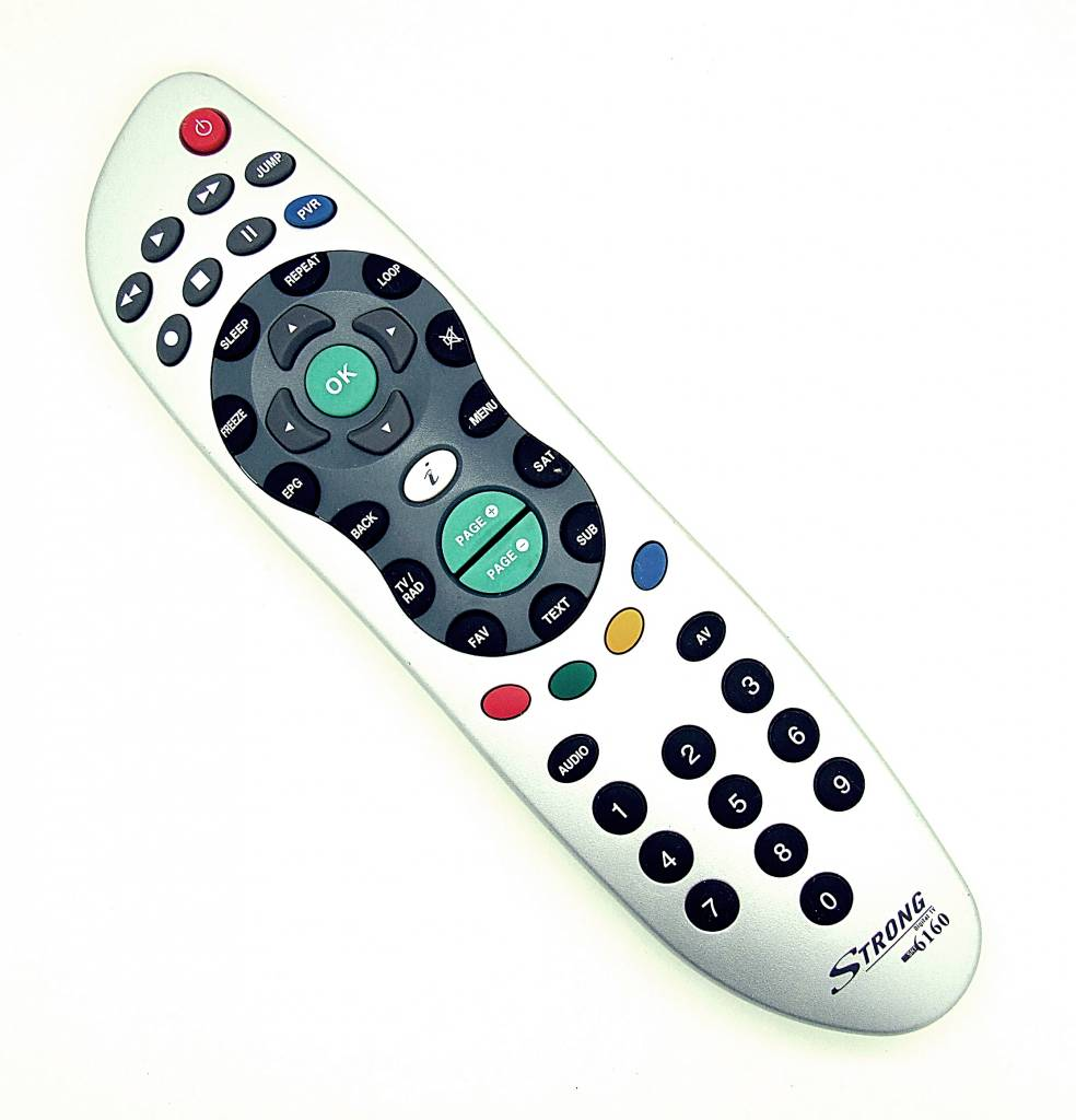 Strong Original Strong Fernbedienung Digital TV SRT6160 remote control
