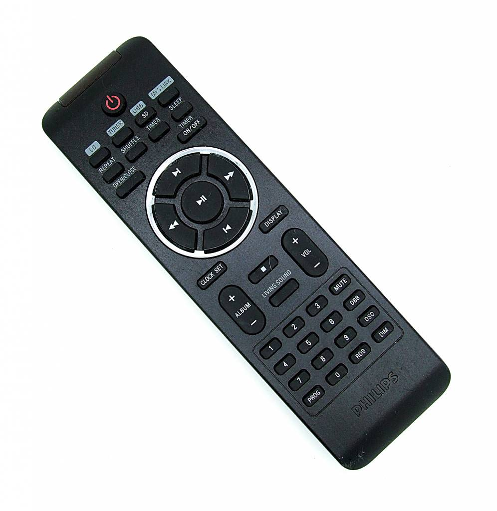 original philips fernbedienung prc500 49 f r mcm330 remote. Black Bedroom Furniture Sets. Home Design Ideas