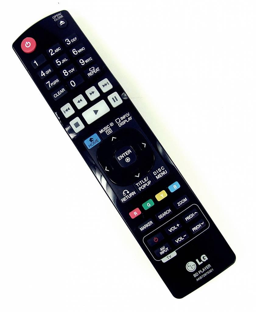 LG Original Fernbedienung LG AKB72975301 BLU-RAY Player Remote Control