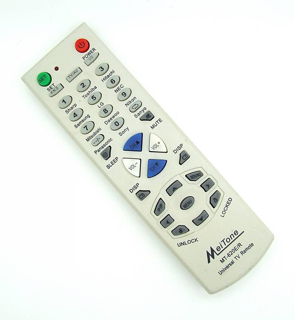 Original MeiTone remote control MT-620E/R universal TV remote