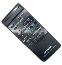 Sharp Original Fernbedienung Sharp G0716GE Video Cassette Recorder