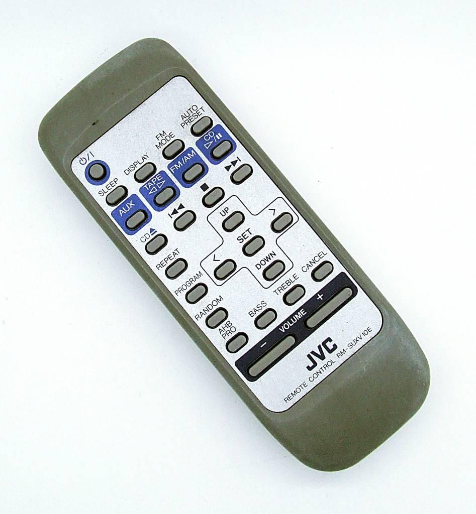original jvc fernbedienung rm suxv10e audio system remote. Black Bedroom Furniture Sets. Home Design Ideas