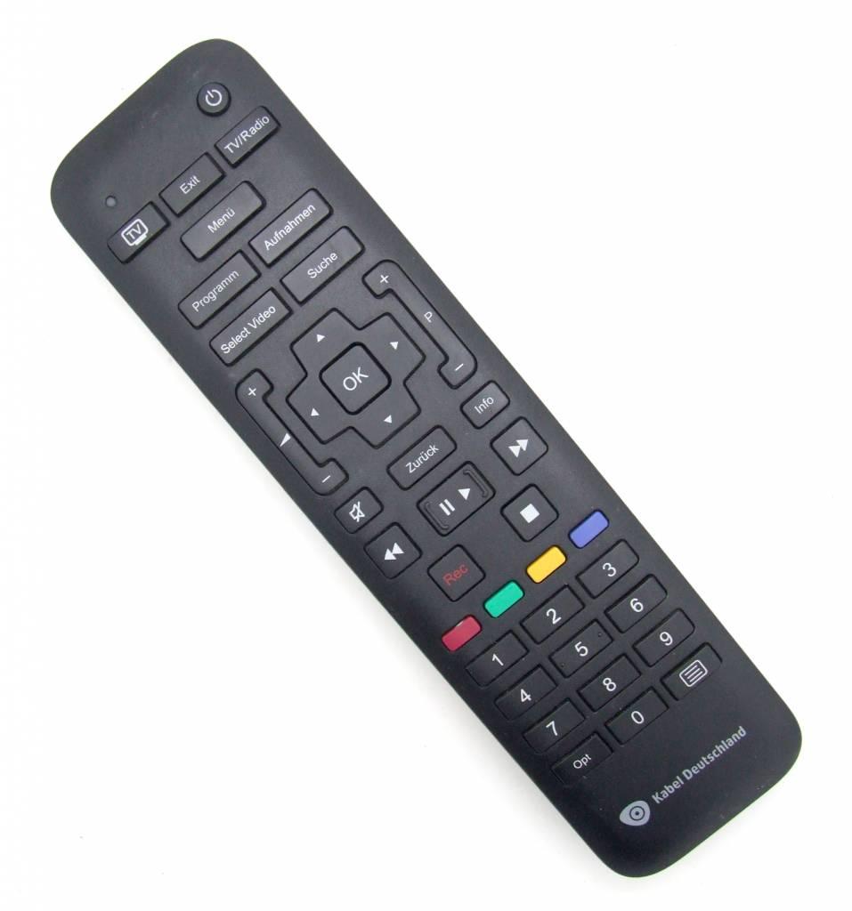 original kabel deutschland remote control rc2634201 01b for samsung und sagemcom kabel receiver. Black Bedroom Furniture Sets. Home Design Ideas
