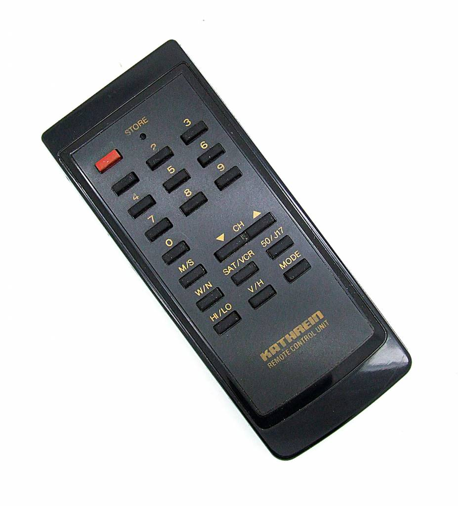original kathrein remote control unit for sat receiver. Black Bedroom Furniture Sets. Home Design Ideas