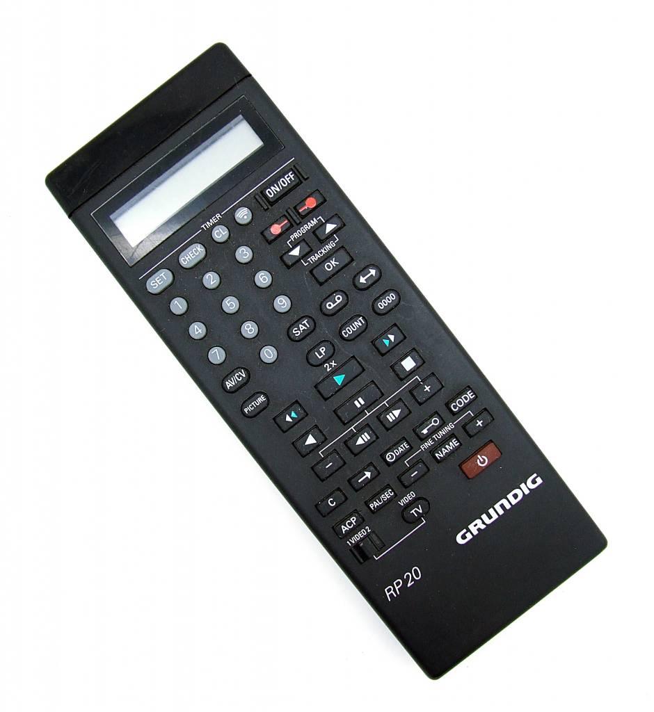 Grundig Original Grundig Fernbedienung RP20, RP 20 remote control