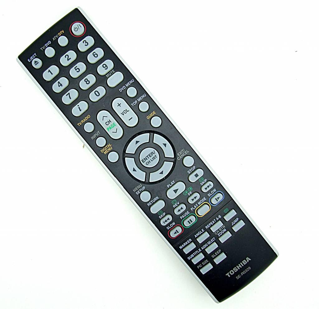 Toshiba Original Toshiba Fernbedienung SE-R0329 TV,DVD remote control