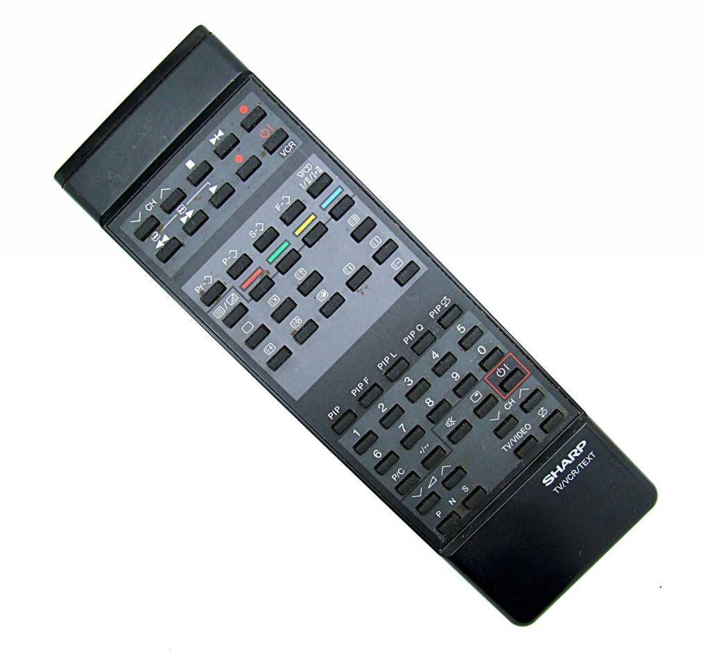 Philips Original Sharp Fernbedienung TV/VCR remote control