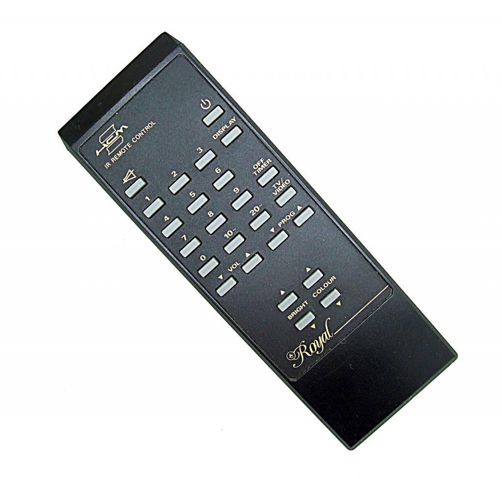 Original HCM Fernbedienung Royal TV/Video remote control