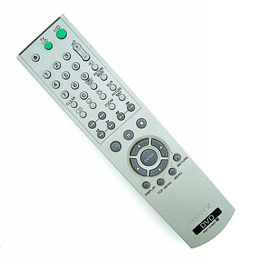 Sony Original Sony RMT-D166P DVD remote control