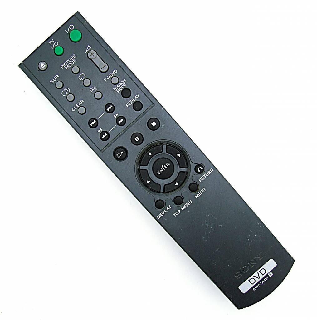 original sony fernbedienung rmt d141p dvd remote control onlineshop for remote controls. Black Bedroom Furniture Sets. Home Design Ideas