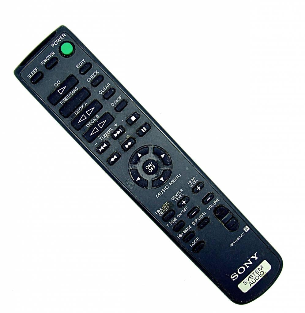 original sony fernbedienung rm se1av system audio cd remote control onlineshop for remote controls. Black Bedroom Furniture Sets. Home Design Ideas