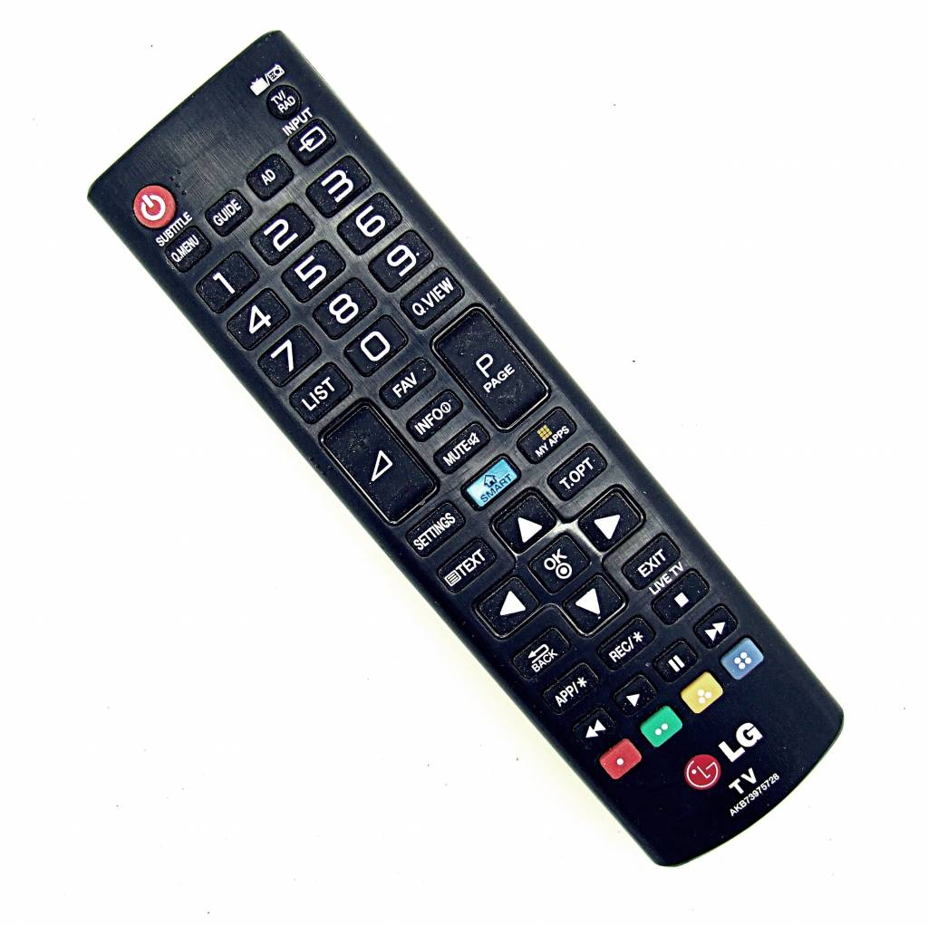 original lg fernbedienung akb73975728 tv remote control onlineshop for remote controls. Black Bedroom Furniture Sets. Home Design Ideas