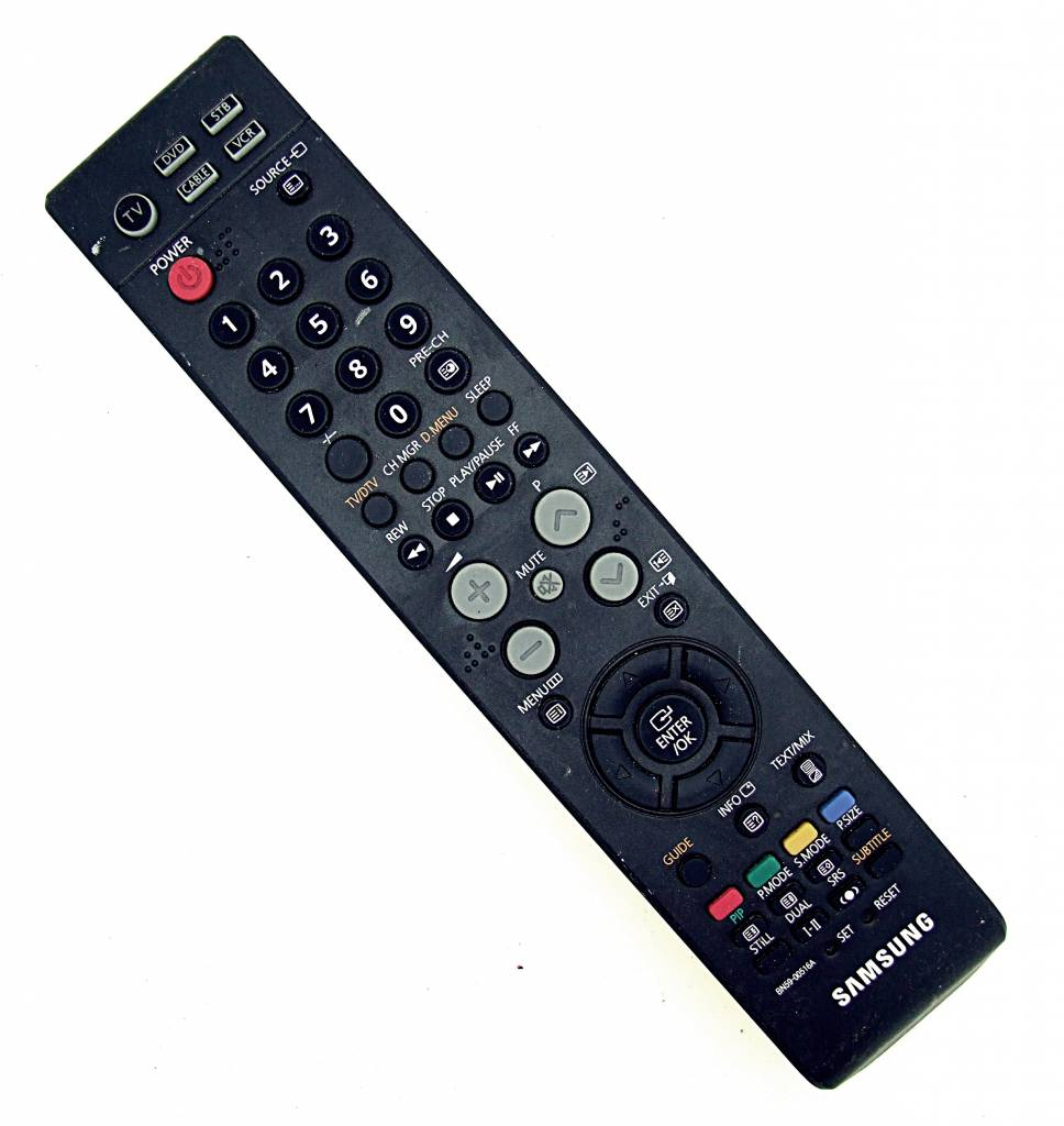 samsung tv cable. samsung original bn59-00516a tv, dvd, stb, cable, vcr remote tv cable 7