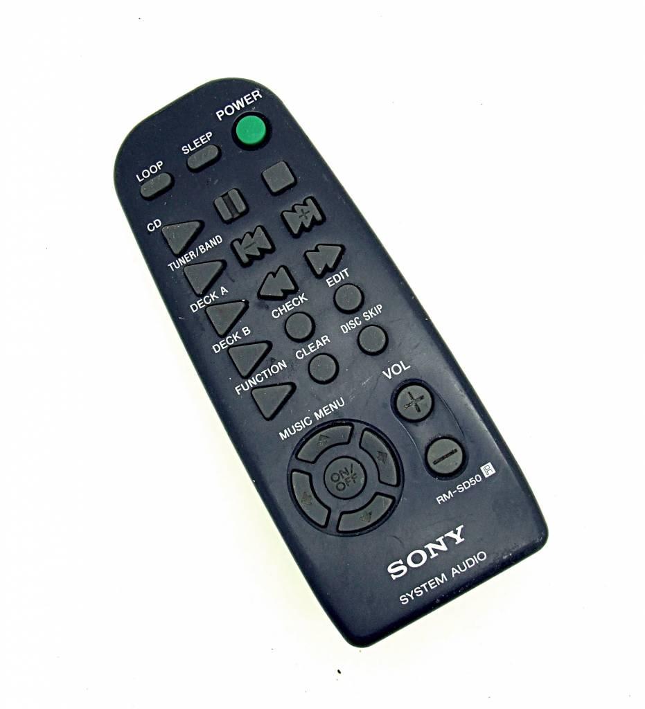 Sony Original Sony Fernbedienung RM-SD50 System Audio remote control