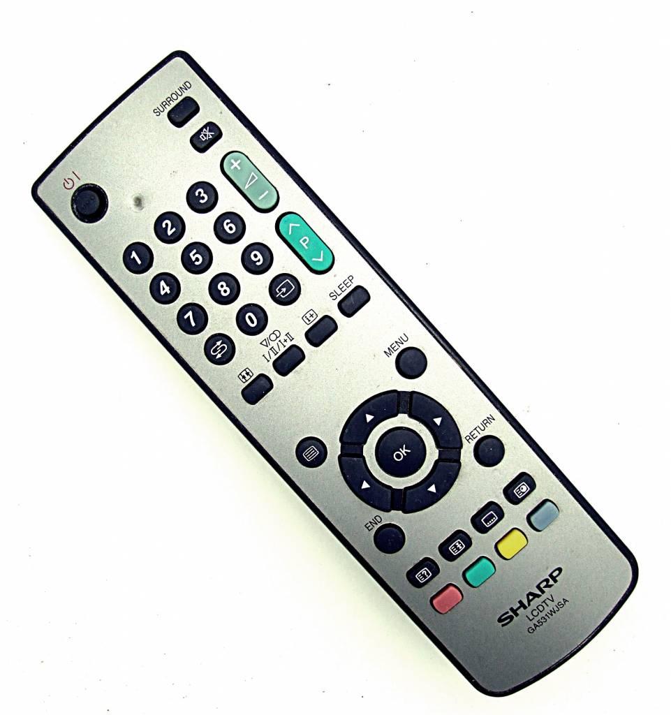 Sharp Original Sharp Fernbedienung GA531WJSA LCD TV remote control