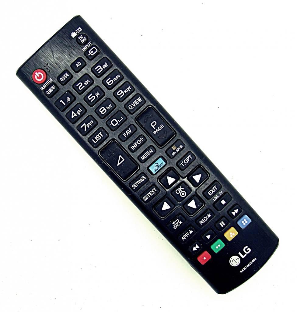 original lg fernbedienung akb74475404 tv remote control onlineshop f r fernbedienungen. Black Bedroom Furniture Sets. Home Design Ideas