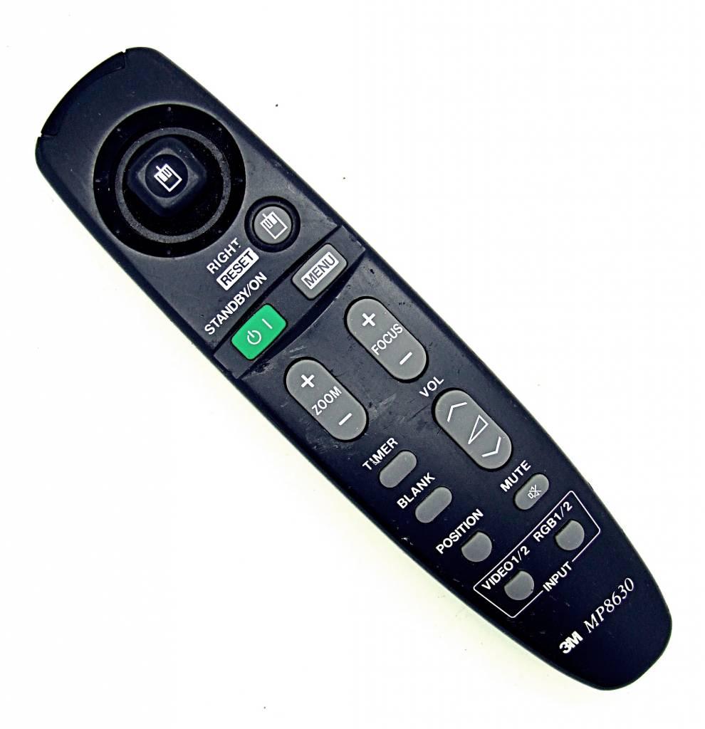 original 3m mp8630 remote control onlineshop for remote controls. Black Bedroom Furniture Sets. Home Design Ideas