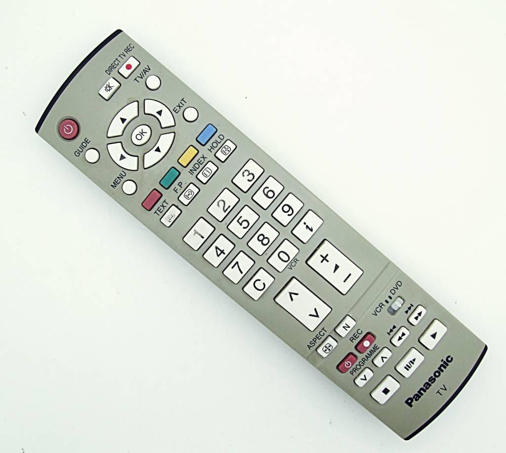 Original Panasonic Tv Eur7651060 Remote Control
