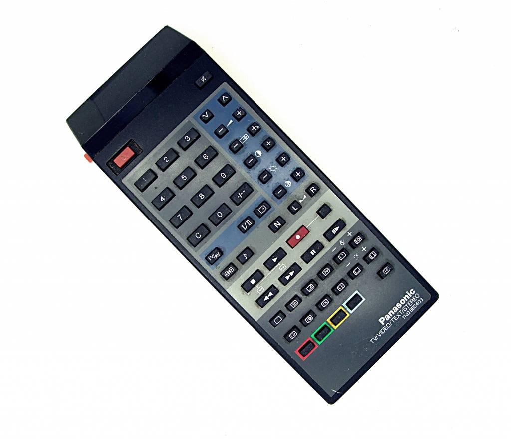 original panasonic tnq8e0403 tv video remote control. Black Bedroom Furniture Sets. Home Design Ideas