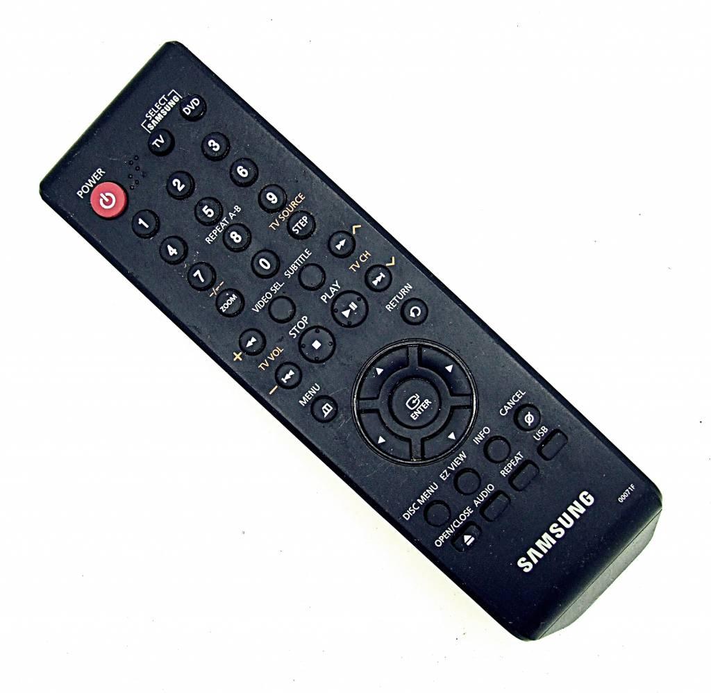 original samsung 00071f dvd vcr remote control onlineshop for