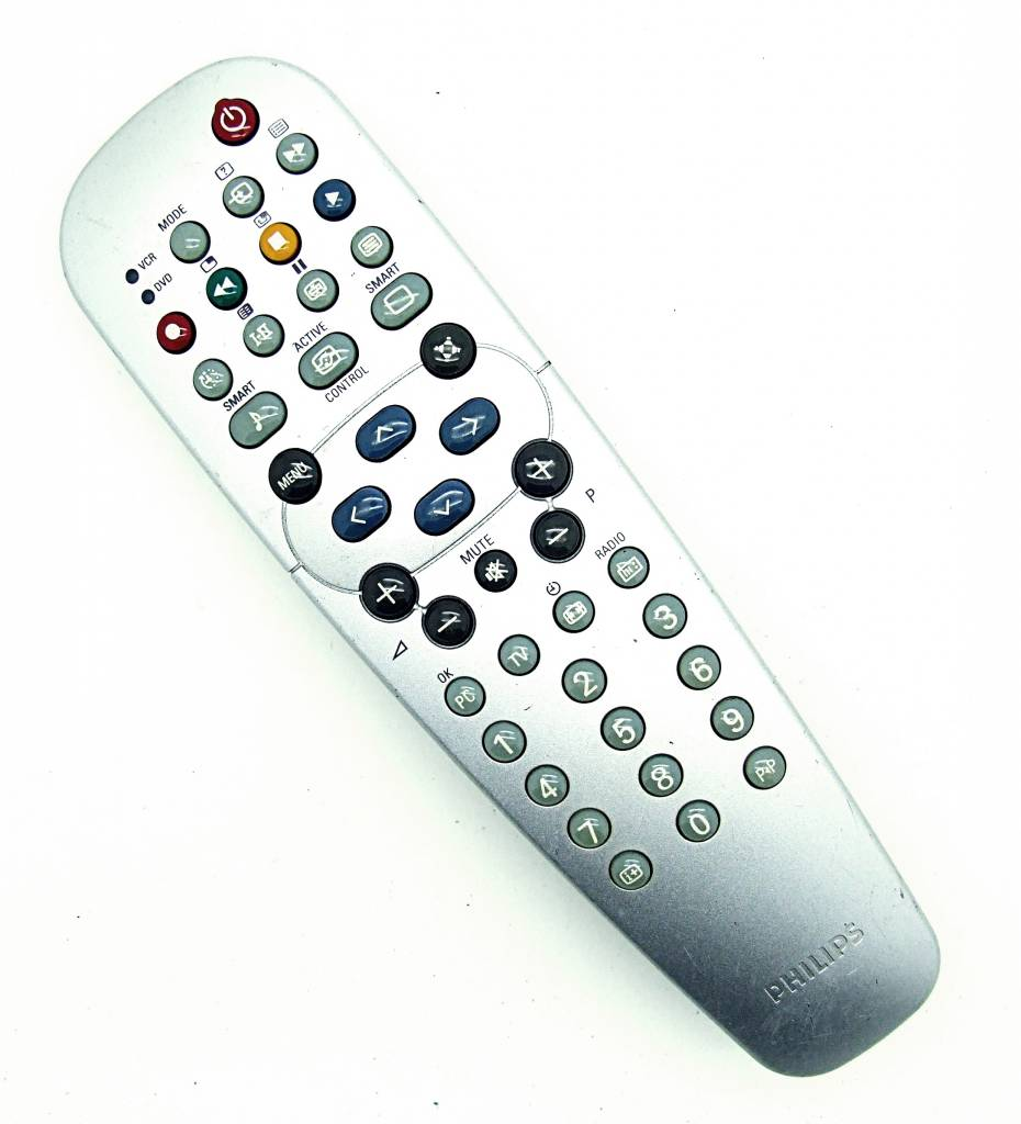 original philips fernbedienung rc19042008 01 universal remote control onlineshop f r. Black Bedroom Furniture Sets. Home Design Ideas
