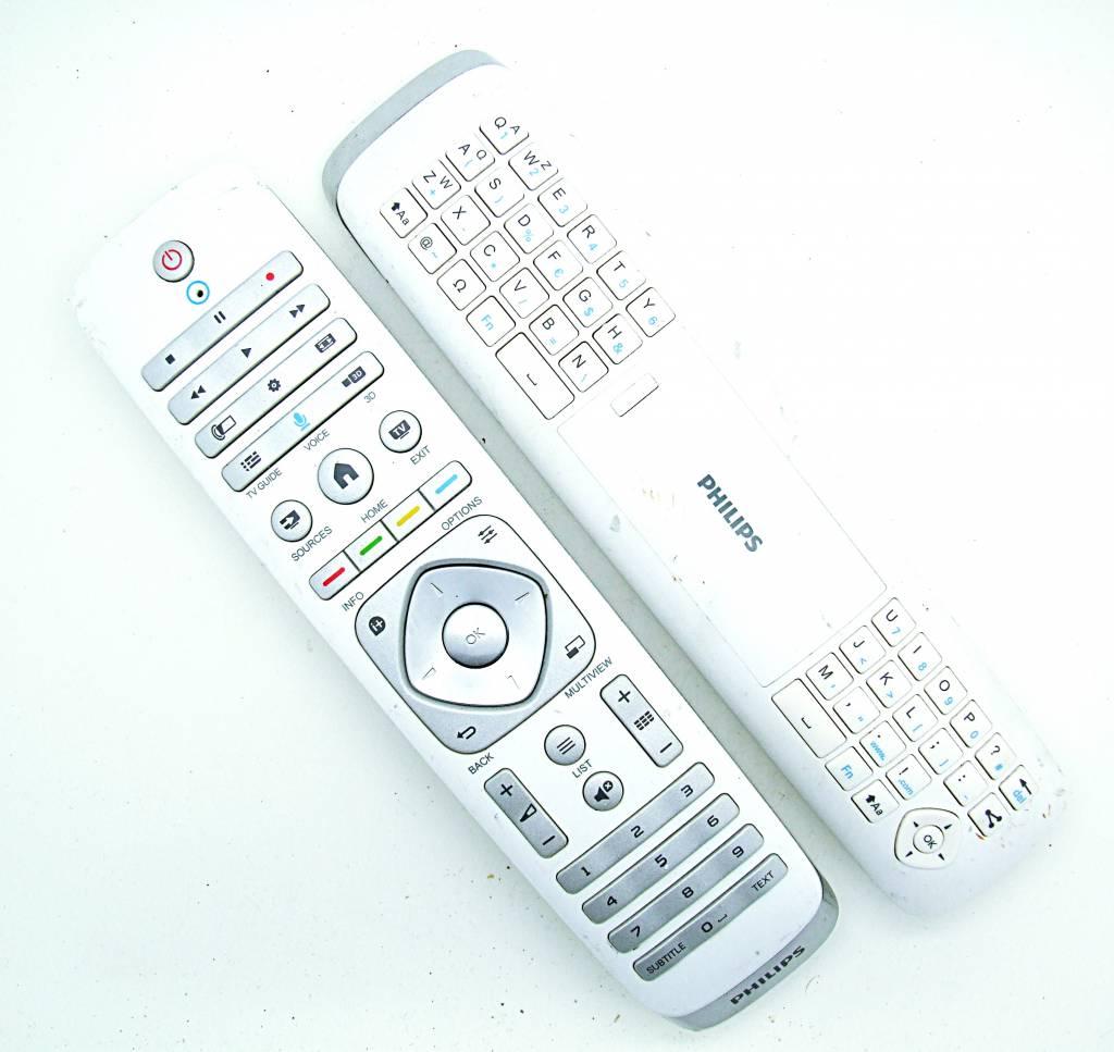 Philips Original Philips Fernbedienung YKF355-005, 996590021453 mit Tastatur remote control
