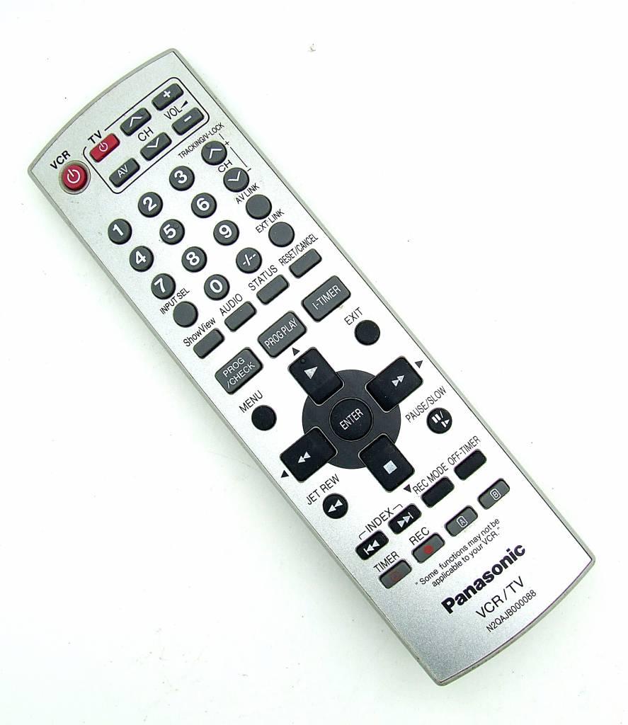 Panasonic Original Panasonic remote control N2QAJB000088 VCR/TV remote control