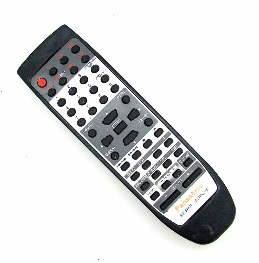 Panasonic Original Panasonic Fernbedienung EUR7702110 Receiver remote control
