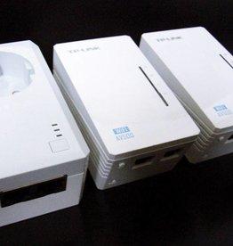 TP-LINK TL-WPA4226TKit AV500 WIFI WLAN Powerline Adapter Netzwerkadapter 3-Set