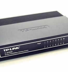 TP-Link TP-LINK TL-SF1016D 16 Port Switch Ethernet Netzwerk 10/100 LAN Hub