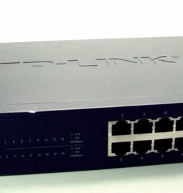 TP-Link TP-LINK TL-SG1016D / 16-Port 10/100/1000 Mbit DSL LAN GIGABIT Switch blau