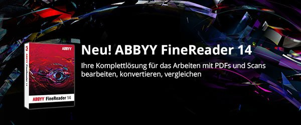 Neu! Abbyy FineReader 14